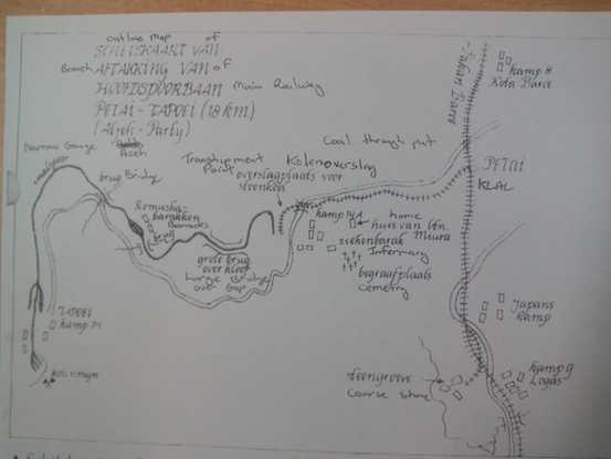 Old Coal Mine Map