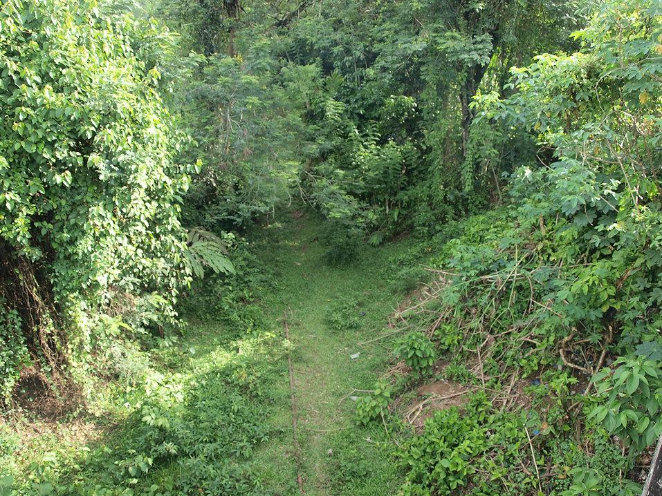 Muaro West Sumatra railway remains