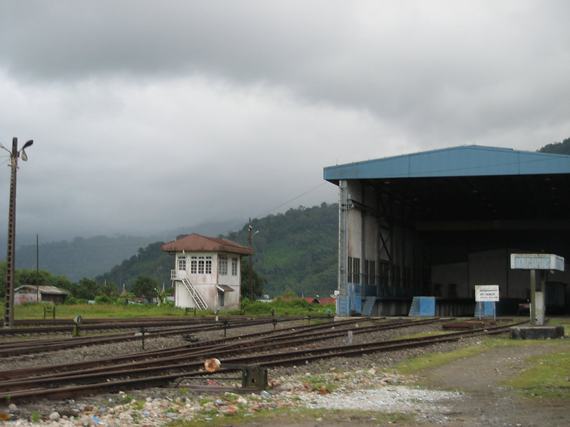 Padang Panjang rail yards