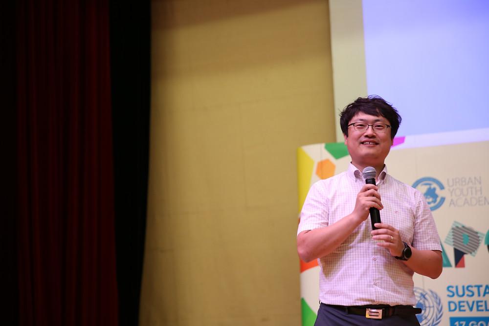 Mr. Kim at APYE Thailand 2017