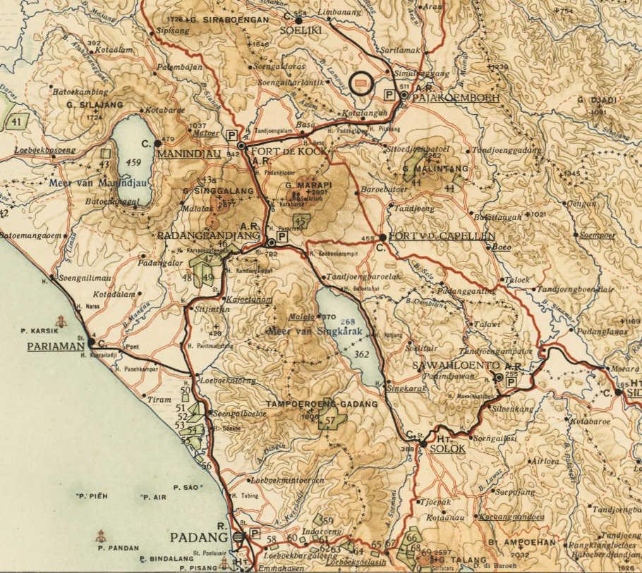 West Sumatra Rail Map