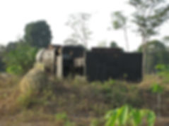Pekanbaru Death Railway monument at Lipit Kian