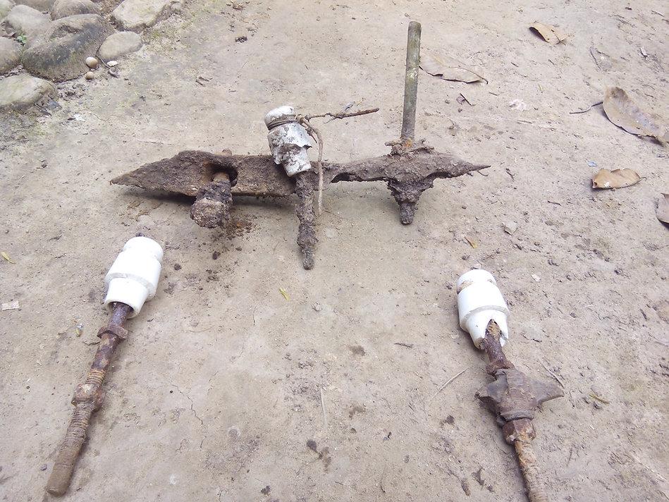 Pekanbaru Death Railway Artifacts at camp 14