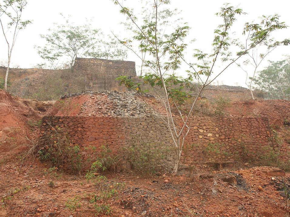 Pekanbaru Death Railway Coal mine at camp 14