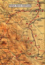 Pekanbaru to Muaro Map
