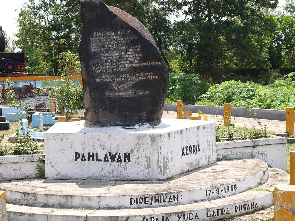 Pekanbaru Death Railway Monument