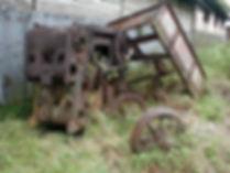 Steam Locomotive remains Padang Panjang