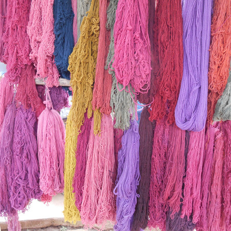 Магия цвета. Часть 1. Текстиль древнего Перу.