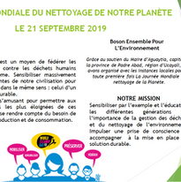 World Clean up Day - Action Aguaytia 21