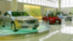 Tesla Troffer Linear LED Lights for Automotive Dealerships