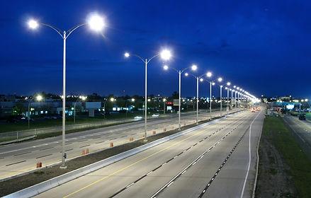 Teslatricity LED smart StreetLight