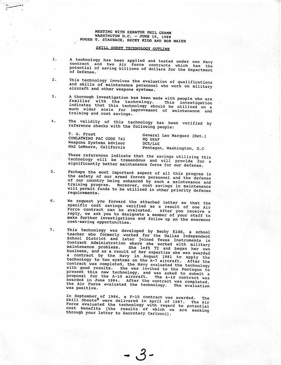 Skill Sheet Technology Case Results