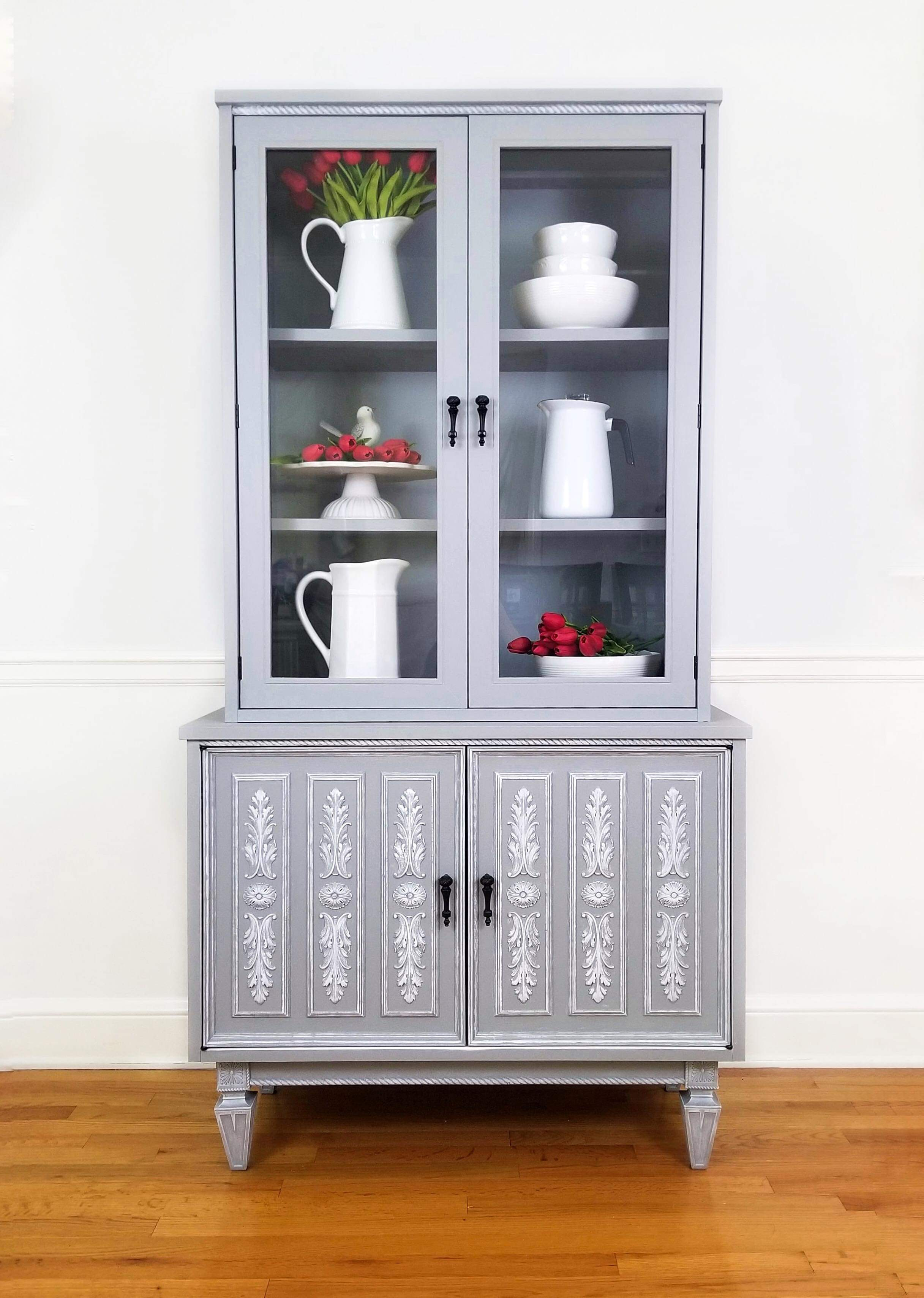Hutch Painted Gray