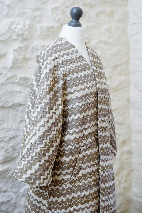 O'Keefe kimono inspired coat - Ecru