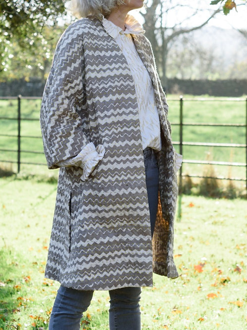 Kimono Jacket - Ecru