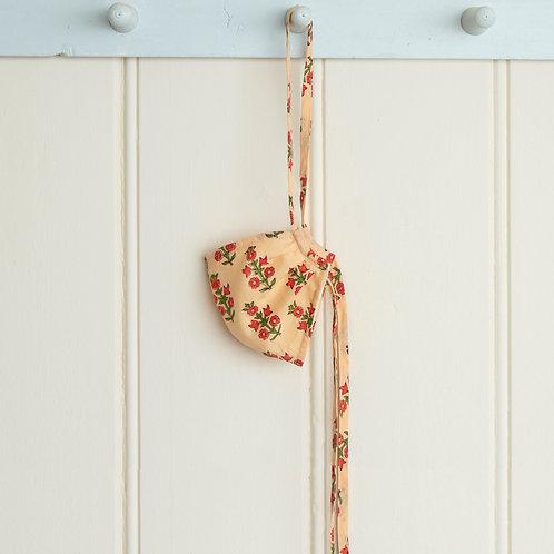 Cloth Mask - Block print floral