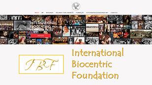 Sítio da International Biocentric Foundation