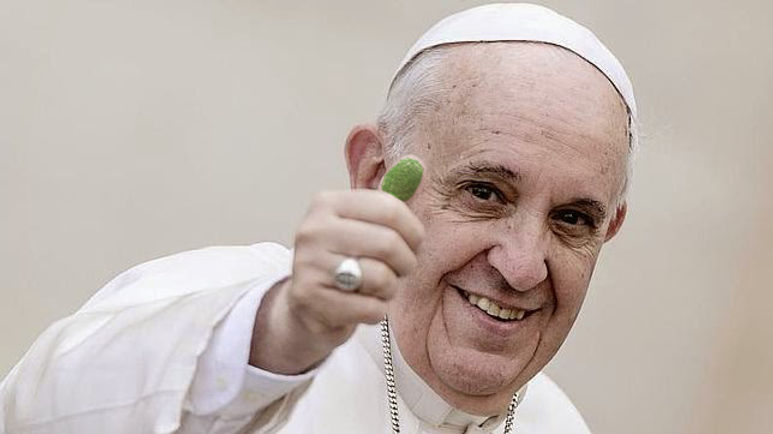 Pope Francis Green Mark