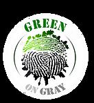 Green on Gray logo