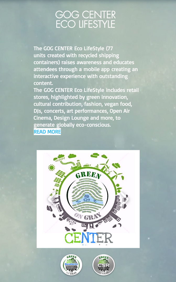GREEN on GRAY INITIATIVES