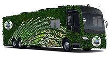 Green on Gray tour bus