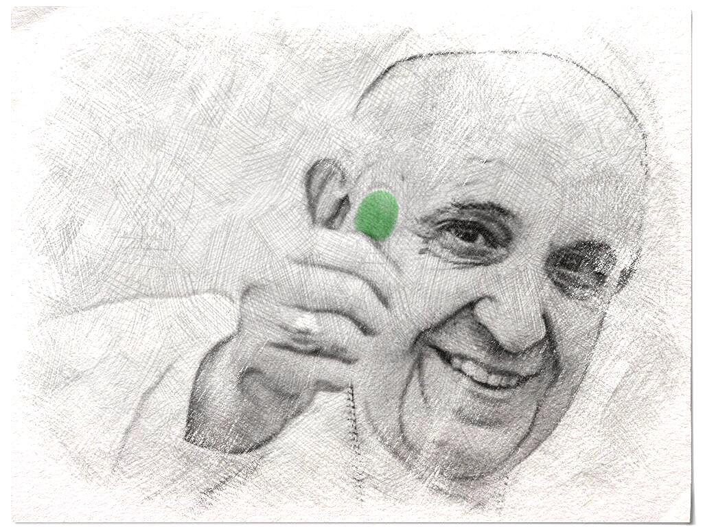 Pope Francis Green Mark