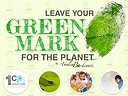 Leave your GREEN MARK