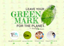 LEAVE YOUR GREEN MARK FOR THE PLANET