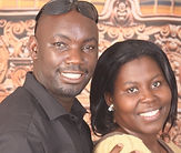 Geofrey Muyanja and wife (639x640) (1).j