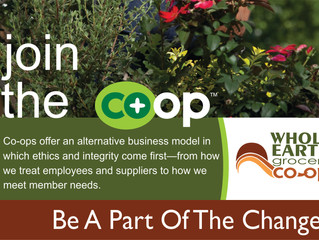 Hooray!  It National Coop Month!
