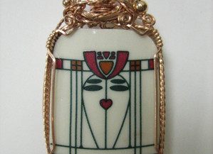 Re-claimed Pottery Jewelry