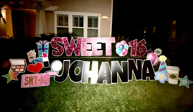 sweet 16 Johanna