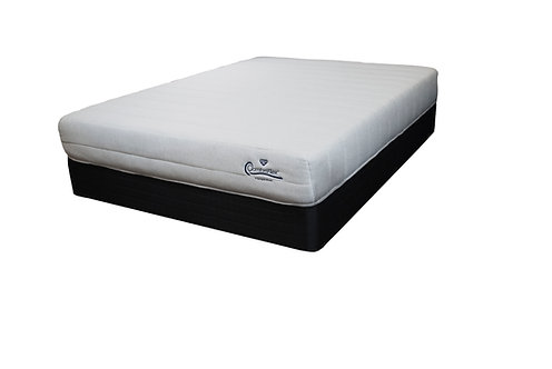 "Canadian Made 10"" Comfort Flex Full Foam Bed in the box"