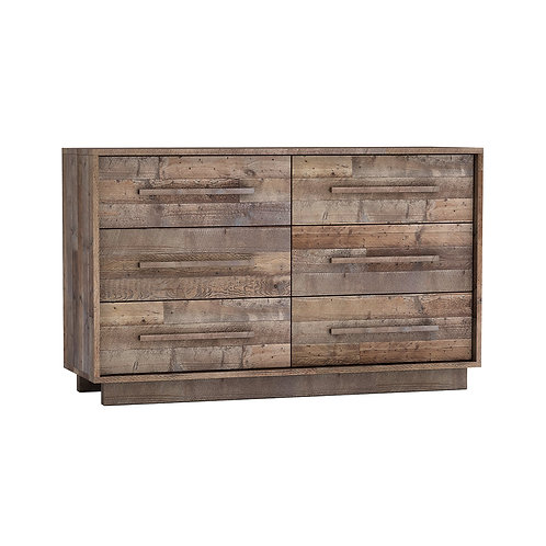 Nevada 6 Drawer Dresser
