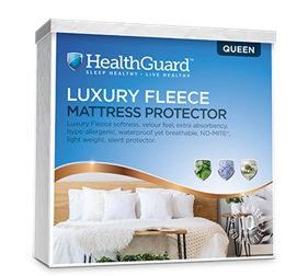 Health Guard Luxury Fleece Plush Mattress Protector