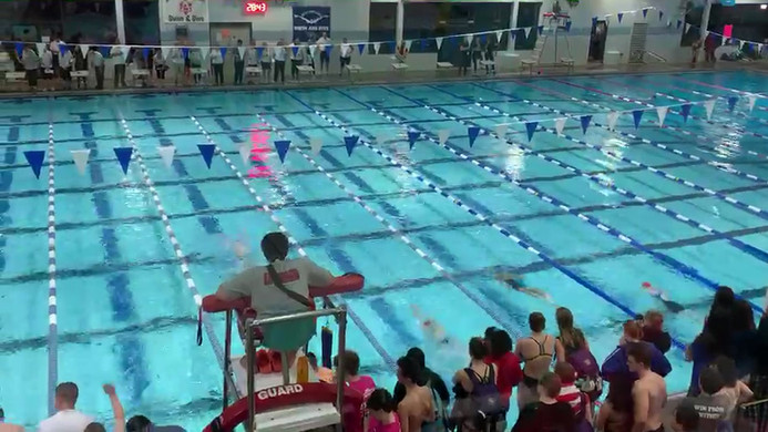 This is a video of Saira swimming 100 breaststoke at Districts. She is in lane 5/6 (second from the right) and finshed second in her heat