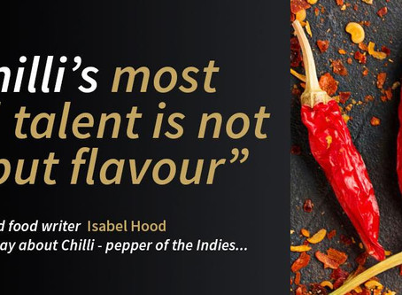 Chilli - Pepper of the Indies