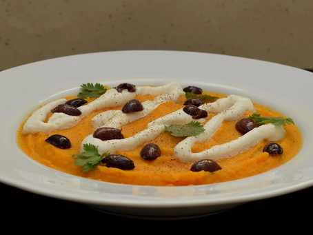 "Tunisian Carrot Purée with ""Red Long Pepper"" recipe from The Natural Vitality Chef"