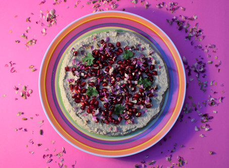 SMOKY TURKISH AUBERGINE DIP Recipe from The Natural Vitality Chef