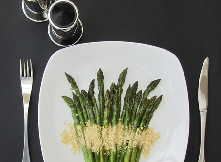 Asparagus - a Dynamic Ageing recipe for the royal herald of Spring