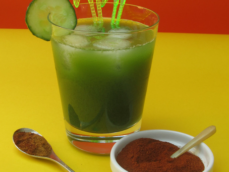 Cucumber Water recipe from The Natural Vitality Chef