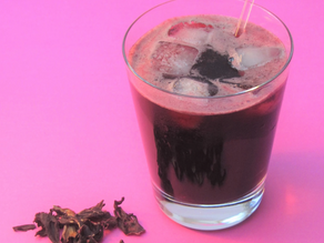 Hibiscus Blossom Water Recipe from The Natural Vitality Chef