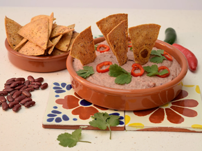 Mexican Bean Dip recipe from The Natural Vitality Chef