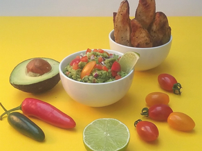 Cajun Potato Wedges With Guacamole recipe from The Natural Vitality Chef