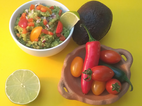 Guacamole recipe from The Natural Vitality Chef