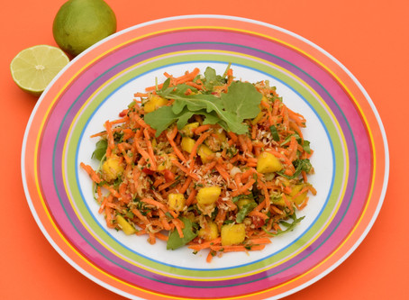 Dynamic Ageing Recipe - Indian Carrot Salad