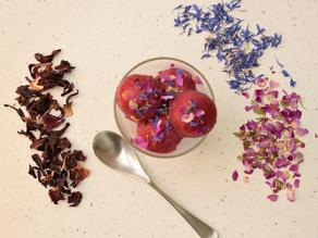 Hibiscus Blossom Sorbet Recipe