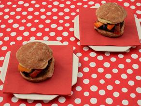 Portabello Mushroom Burgers recipe from The Natural Vitality Chef