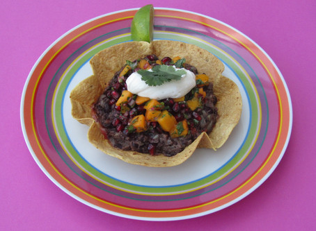 Dynamic Ageing Recipe - Black Bean Tostadas
