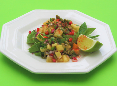 DYNAMIC AGEING RECIPE - Pineapple and Avocado Salad